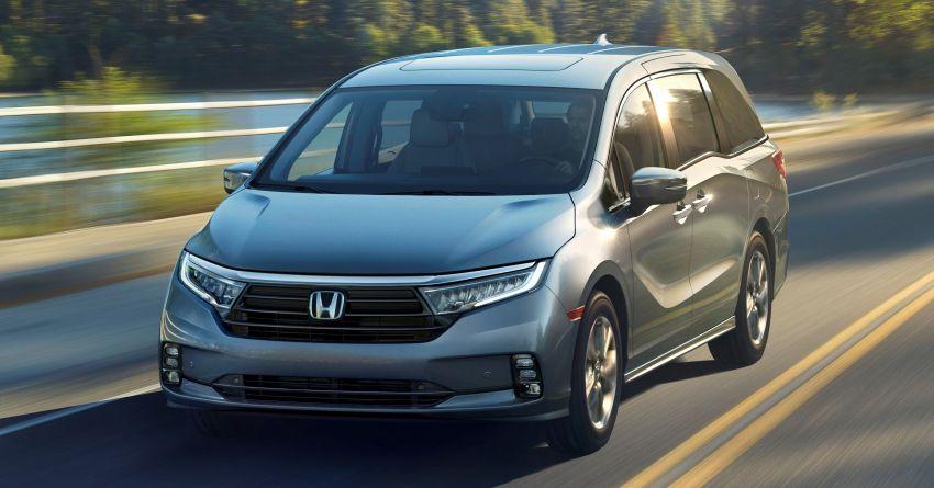 2021 Honda Odyssey revealed before New York debut Image #1093803