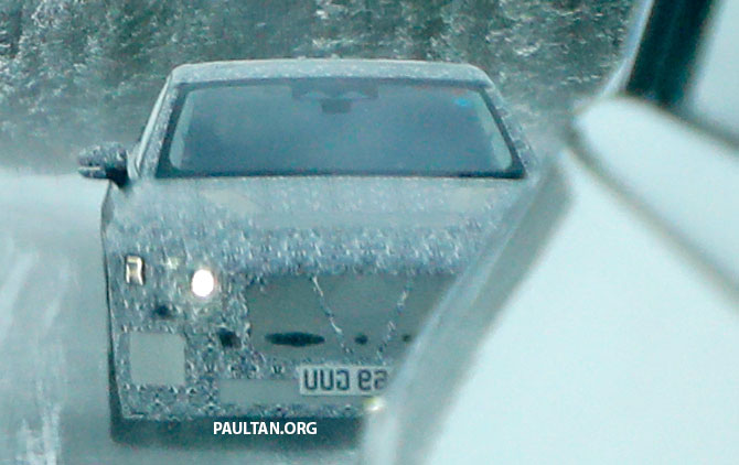 SPYSHOTS: Next-gen Jaguar XJ EV starts road-testing Image #1095308