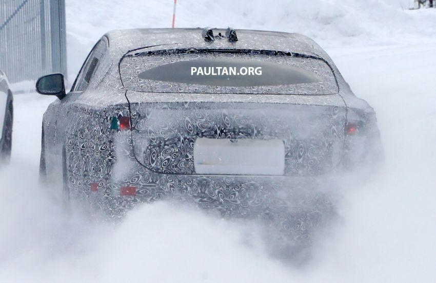SPYSHOTS: Next-gen Jaguar XJ EV starts road-testing Image #1095299