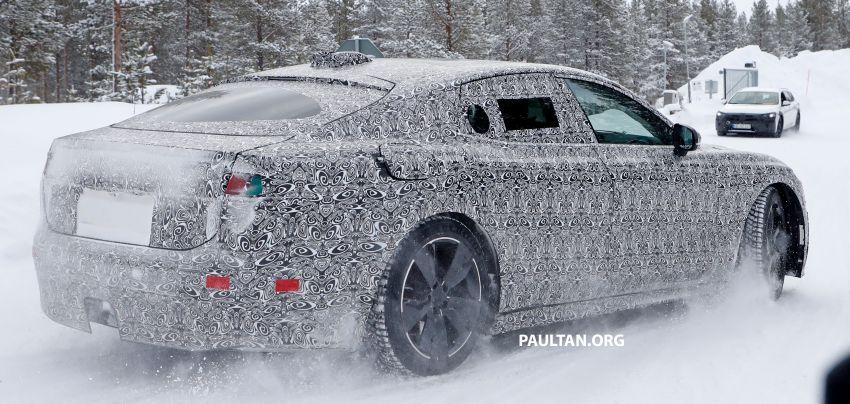 SPYSHOTS: Next-gen Jaguar XJ EV starts road-testing Image #1095305