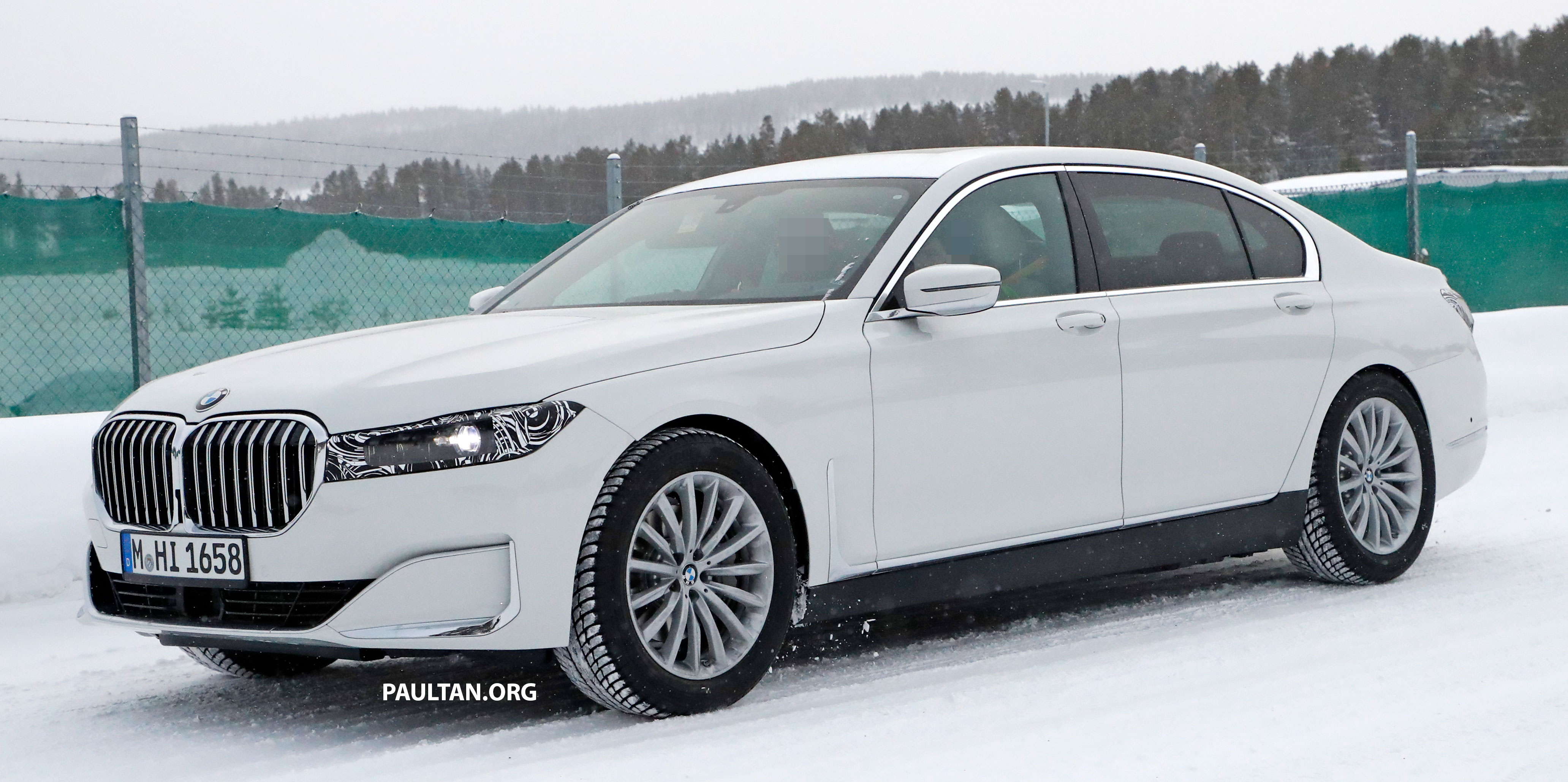 spyshots: 2022 bmw 7 series mule in g11/g12 body 2022-bmw