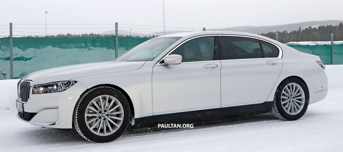 spyshots: 2022 bmw 7 series mule in g11/g12 body paul tan