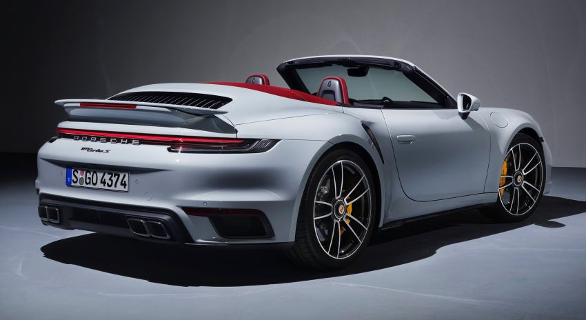 Porsche 911 Turbo S 2020 didedahkan – boxer 3.8L biturbo berkuasa 650 PS/800 Nm, 0-100 km/j 2.7 saat! Image #1091017