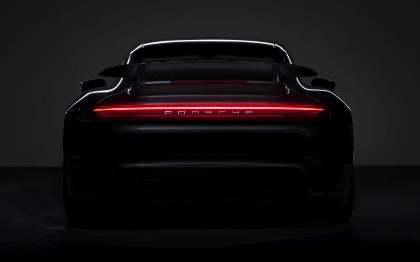 992 Porsche 911 Turbo teased, online debut tomorrow Image #1089236