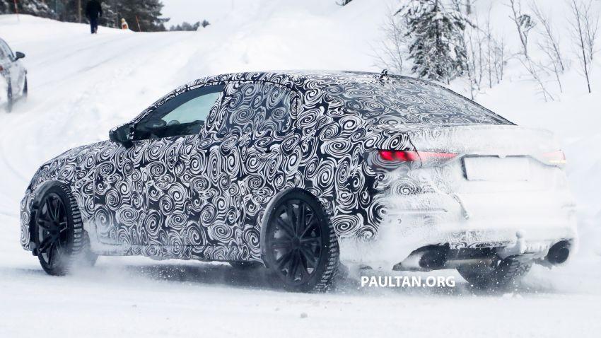 SPIED: 2021 Audi RS3 Sedan – 4 doors, over 400 hp Image #1099134