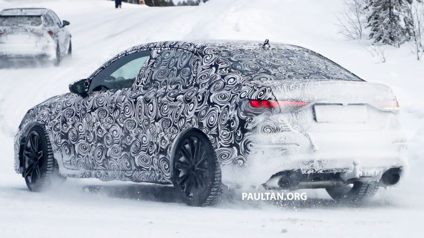 SPIED: 2021 Audi RS3 Sedan – 4 doors, over 400 hp Image #1099136