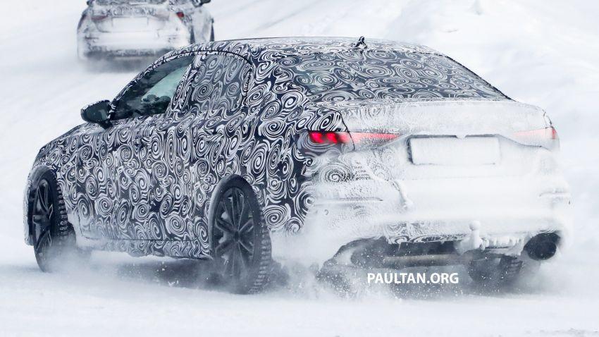 SPIED: 2021 Audi RS3 Sedan – 4 doors, over 400 hp Image #1099137
