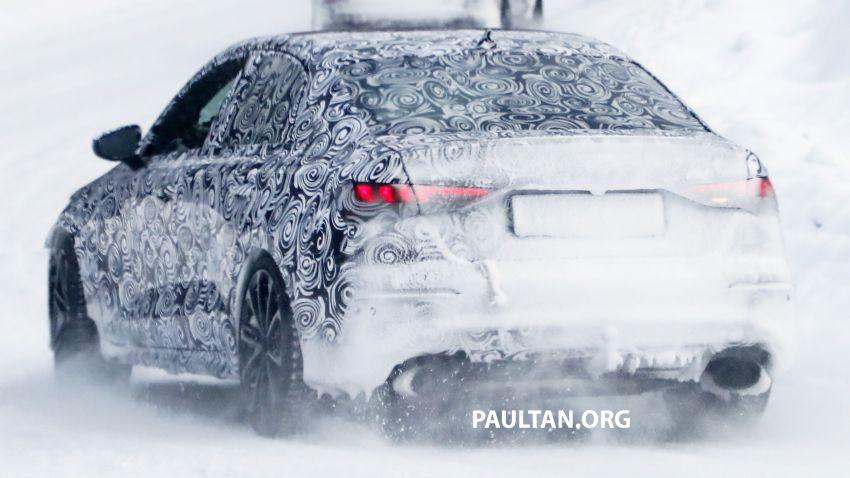SPIED: 2021 Audi RS3 Sedan – 4 doors, over 400 hp Image #1099140