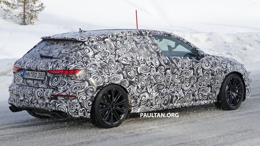 SPIED: 2021 Audi RS3 Sedan – 4 doors, over 400 hp Image #1099145