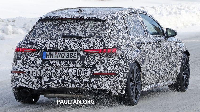 SPIED: 2021 Audi RS3 Sedan – 4 doors, over 400 hp Image #1099147