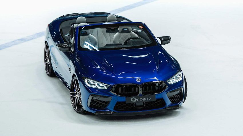 BMW M8 receives the G-Power treatment for 820 PS Image #1099626