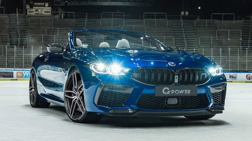 BMW M8 receives the G-Power treatment for 820 PS Image #1099629