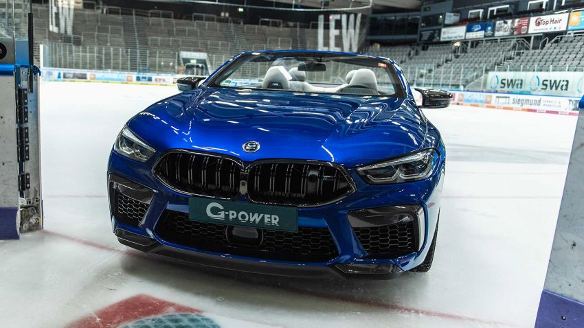 BMW M8 receives the G-Power treatment for 820 PS Image #1099630