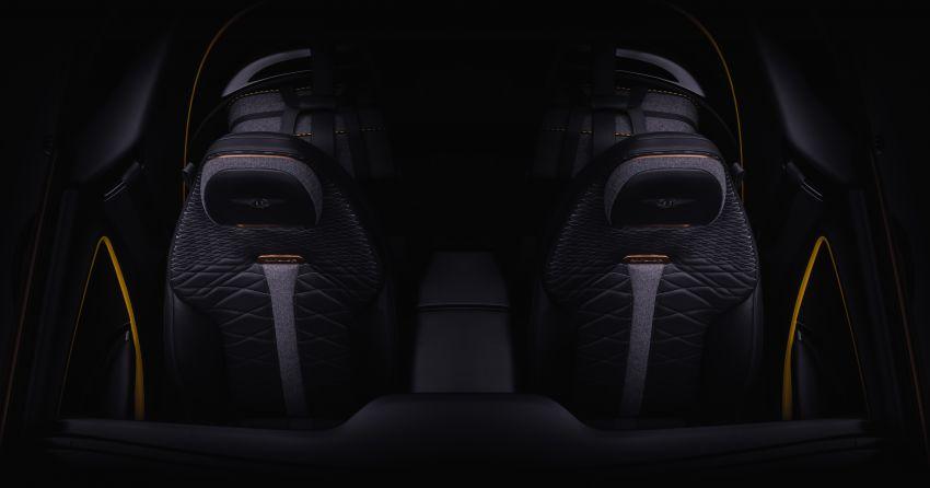 2020 Bentley Mulliner Bacalar – ultra-luxury cabin seen Image #1089713