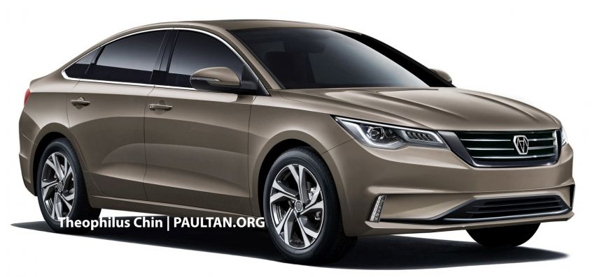 DreamEdge new national car fleshed out via renders Image #1093495