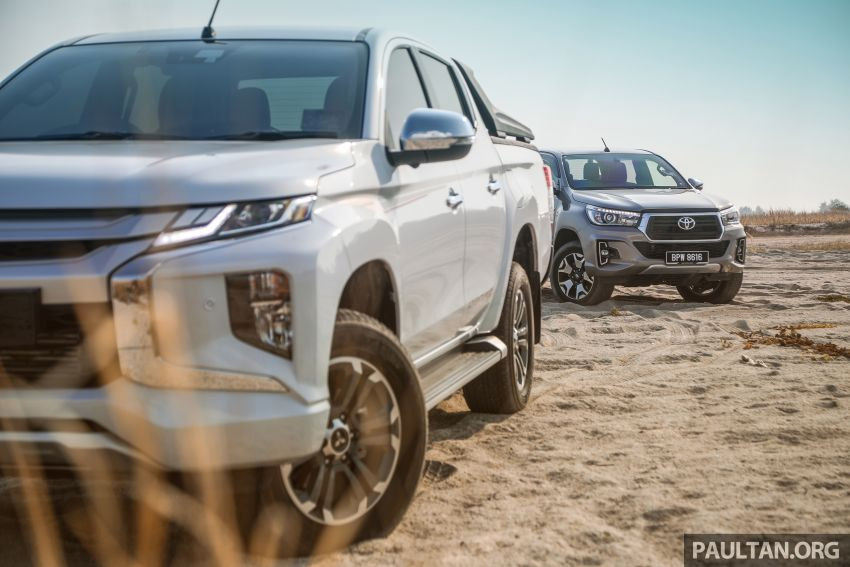 Toyota Hilux 2.8L versus Mitsubishi Triton 2.4L – which one of the two pick-up trucks is more fuel efficient? Image #1097554