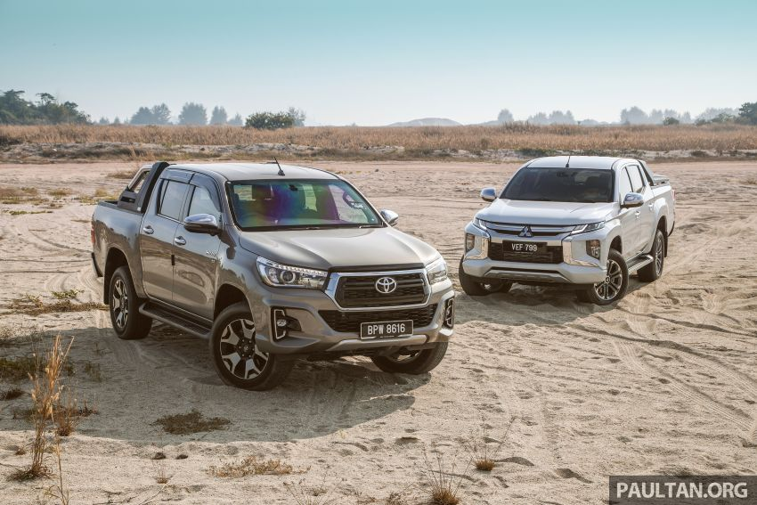 Toyota Hilux 2.8L versus Mitsubishi Triton 2.4L – which one of the two pick-up trucks is more fuel efficient? Image #1097550
