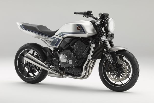 Honda CB-F Concept debuts - 999 cc retro naked bike