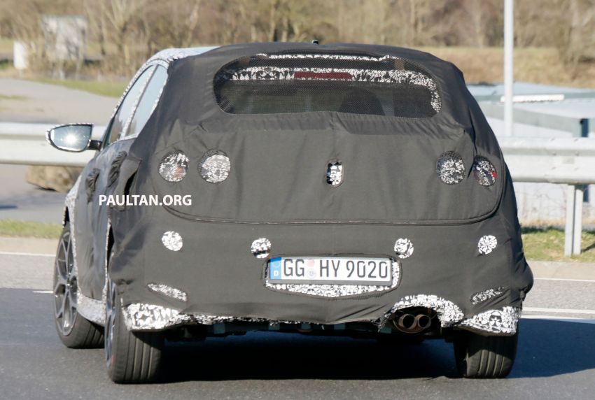 SPYSHOTS: Hyundai i20 N hot hatch heads to the Ring Image #1099207