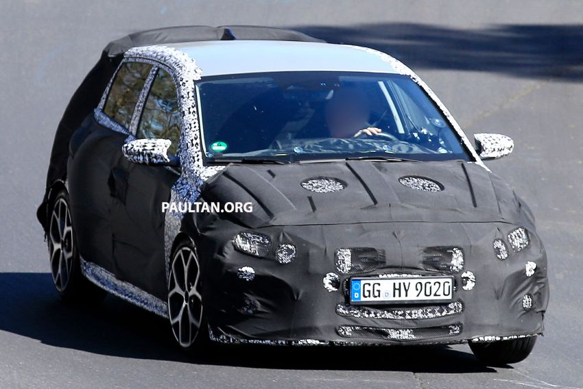 SPYSHOTS: Hyundai i20 N hot hatch heads to the Ring Image #1099430