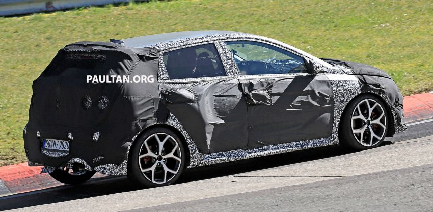 SPYSHOTS: Hyundai i20 N hot hatch heads to the Ring Image #1099435