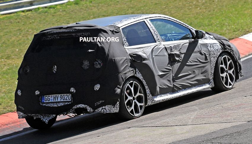 SPYSHOTS: Hyundai i20 N hot hatch heads to the Ring Image #1099436
