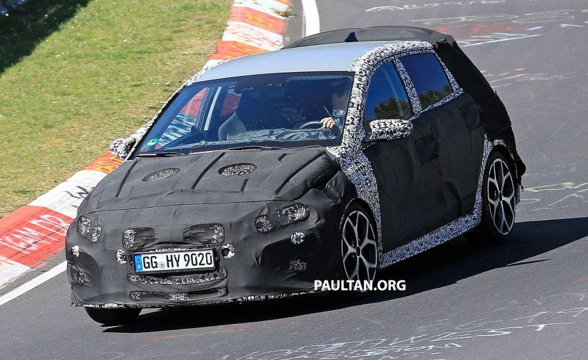 SPYSHOTS: Hyundai i20 N hot hatch heads to the Ring Image #1099440