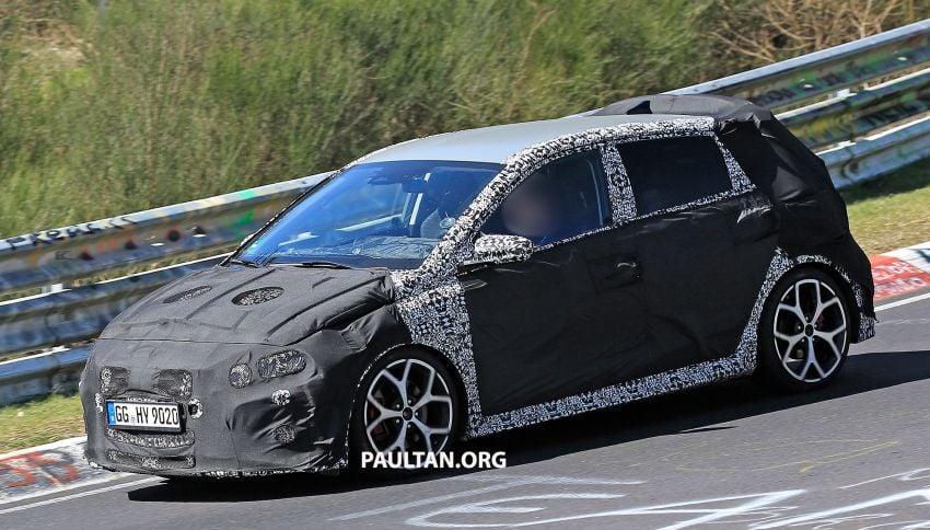 SPYSHOTS: Hyundai i20 N hot hatch heads to the Ring Image #1099442