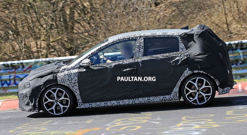 SPYSHOTS: Hyundai i20 N hot hatch heads to the Ring Image #1099443