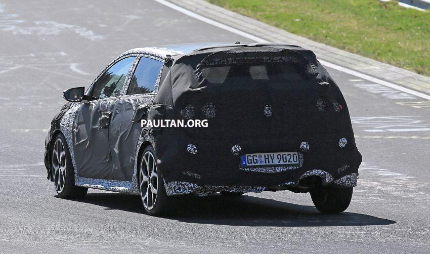 SPYSHOTS: Hyundai i20 N hot hatch heads to the Ring Image #1099447