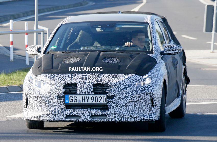SPYSHOTS: Hyundai i20 N hot hatch heads to the Ring Image #1099198