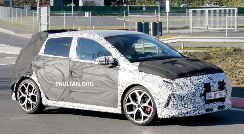 SPYSHOTS: Hyundai i20 N hot hatch heads to the Ring Image #1099201