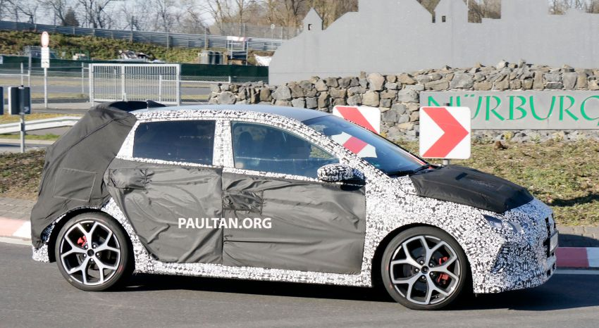 SPYSHOTS: Hyundai i20 N hot hatch heads to the Ring Image #1099202