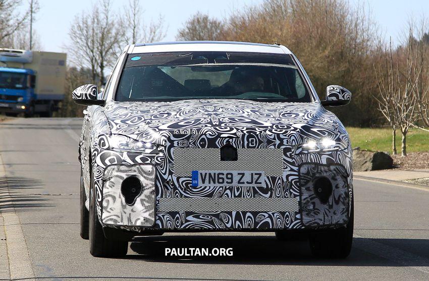 SPYSHOTS: Jaguar F-Pace SVR facelift at the 'Ring Image #1096949