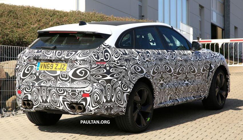 SPYSHOTS: Jaguar F-Pace SVR facelift at the 'Ring Image #1096936