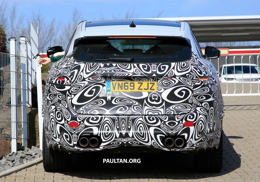 SPYSHOTS: Jaguar F-Pace SVR facelift at the 'Ring Image #1096933