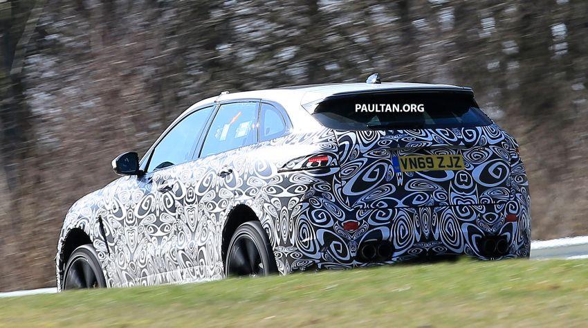 SPYSHOTS: Jaguar F-Pace SVR facelift at the 'Ring Image #1096925