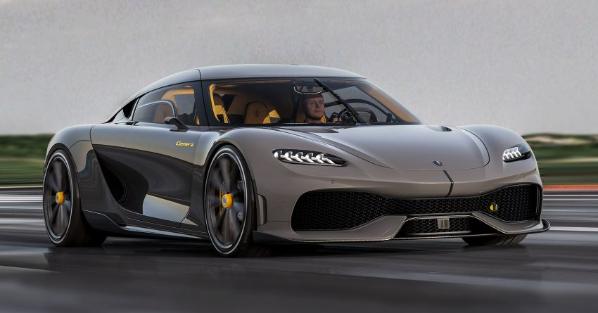 Koenigsegg Gemera – four-seater with 2L 3-cylinder Freevalve engine, three e-motors, 1,700 PS, 3,500 Nm Image #1090852