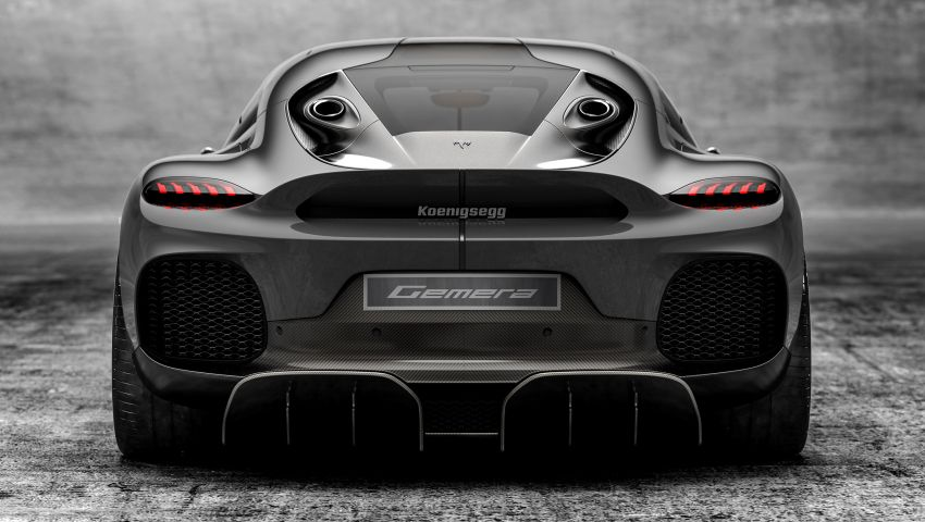 Koenigsegg Gemera – four-seater with 2L 3-cylinder Freevalve engine, three e-motors, 1,700 PS, 3,500 Nm Image #1090861