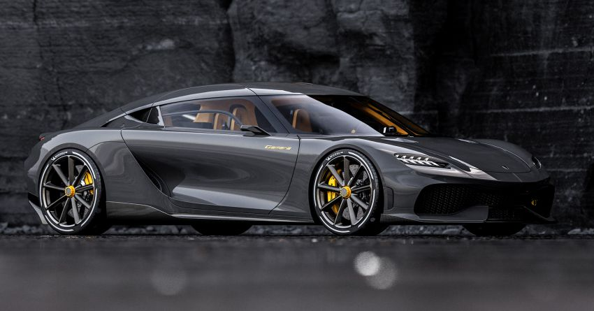 Koenigsegg Gemera – four-seater with 2L 3-cylinder Freevalve engine, three e-motors, 1,700 PS, 3,500 Nm Image #1090864