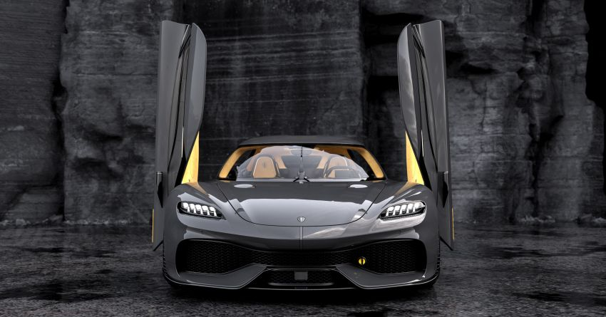 Koenigsegg Gemera – four-seater with 2L 3-cylinder Freevalve engine, three e-motors, 1,700 PS, 3,500 Nm Image #1090866