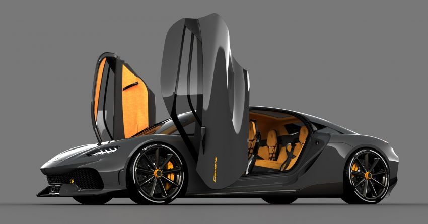 Koenigsegg Gemera – four-seater with 2L 3-cylinder Freevalve engine, three e-motors, 1,700 PS, 3,500 Nm Image #1090868