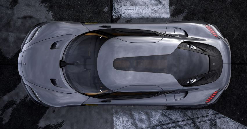 Koenigsegg Gemera – four-seater with 2L 3-cylinder Freevalve engine, three e-motors, 1,700 PS, 3,500 Nm Image #1090855