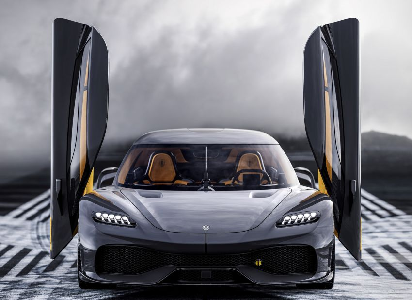 Koenigsegg Gemera – four-seater with 2L 3-cylinder Freevalve engine, three e-motors, 1,700 PS, 3,500 Nm Image #1090856