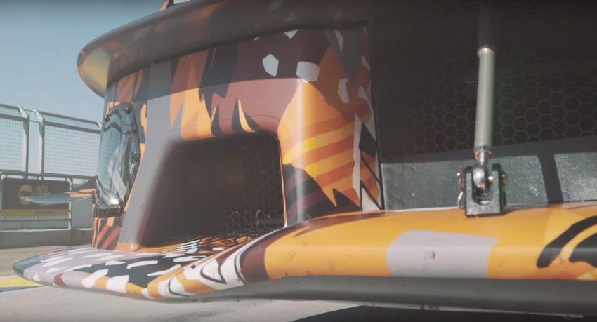 Lamborghini V12 track-only car teased again on circuit Image #1099708