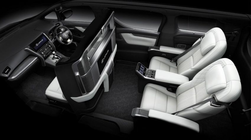 Lexus LM launched in Thailand – LM 300h offered with four or seven seats; priced between RM739k-RM873k Image #1094412