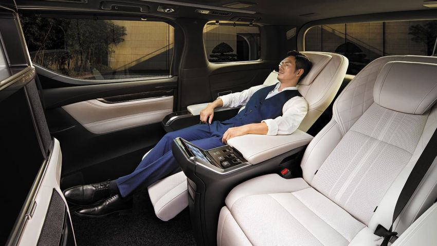 Lexus LM launched in Thailand – LM 300h offered with four or seven seats; priced between RM739k-RM873k Image #1094413