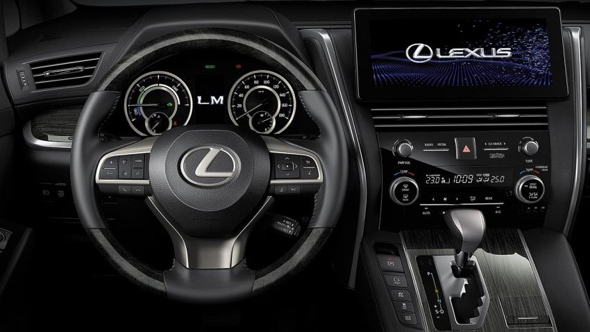 Lexus LM launched in Thailand – LM 300h offered with four or seven seats; priced between RM739k-RM873k Image #1094409