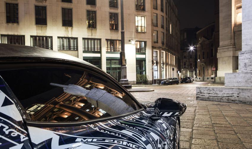 Maserati MC20: more prototype images as reveal nears Image #1092443