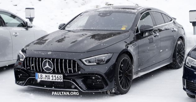 Spyshots Mercedes Amg Gt73 Eq Power Spotted 4 0 Litre Twin Turbo V8 Plug In Hybrid With 800 Hp Paultan Org